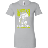 Super Saiyan Broly Training Gym Woman Short Sleeve T Shirt - TL00540WS