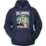 Super Saiyan DELAWARE Grown Saiyan Roots Unisex Hoodie T shirt - TL00170HO