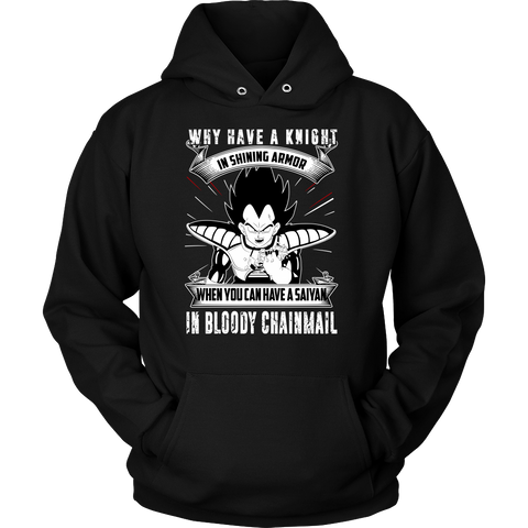 Super Saiyan - forget the knight , you have saiyans - Unisex Hoodie - TL01366HO