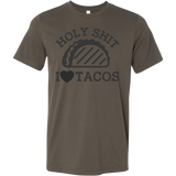 Taco mexican holy shit i love tacos Men Short Sleeve Funny T Shirt - TL00585SS