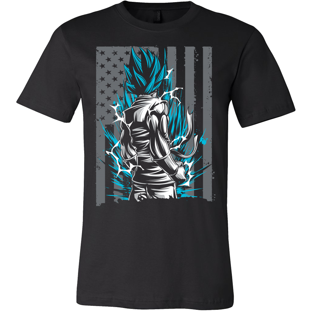 Super Saiyan goku God Men Short Sleeve T Shirt - TL00002SS