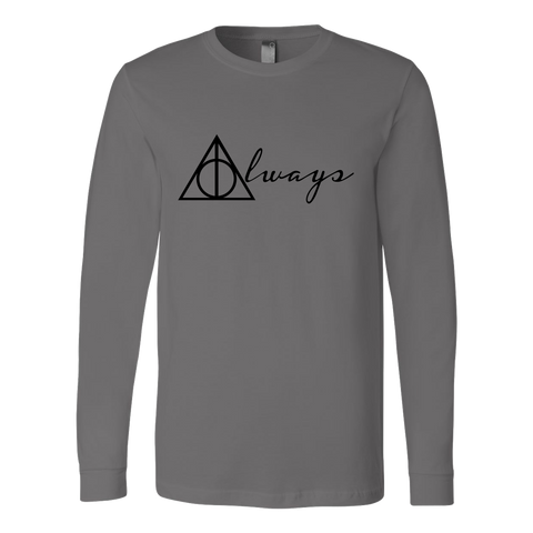 Harry Potter - Always  - Unisex Long Sleeve T Shirt - TL01349LS