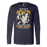 Super Saiyan Rhode Island Long Sleeve T shirt - TL00102LS