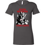 Super Saiyan Majin Vegeta Push Limits Woman Short Sleeve T Shirt -TL00228WS