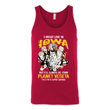 Super Saiyan Iowa Unisex Tank Top T Shirt - TL00090TT