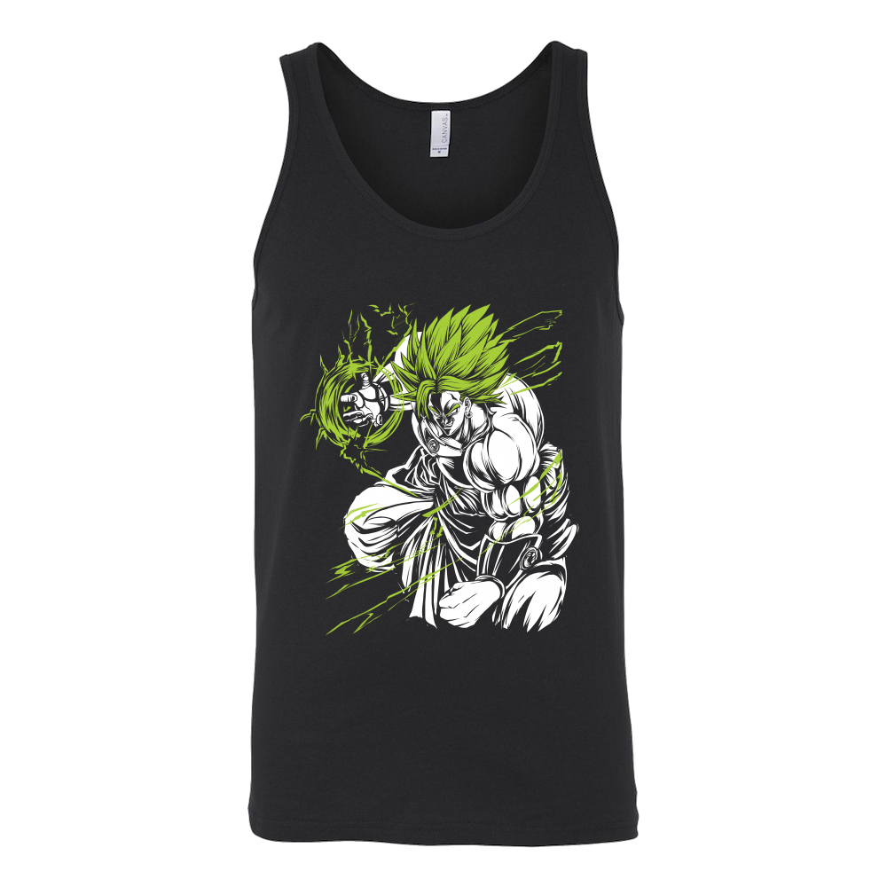 Legendary Super Saiyan Broly Monster Unisex Tank Top T Shirt -TL00008TT