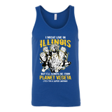 Super Saiyan ILLINOIS Group Unisex Tank Top T Shirt -TL00064TT