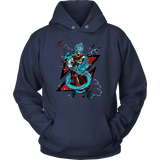 Super Saiyan Goku God Blue with shenron Hoodie T Shirt- TL00245HO