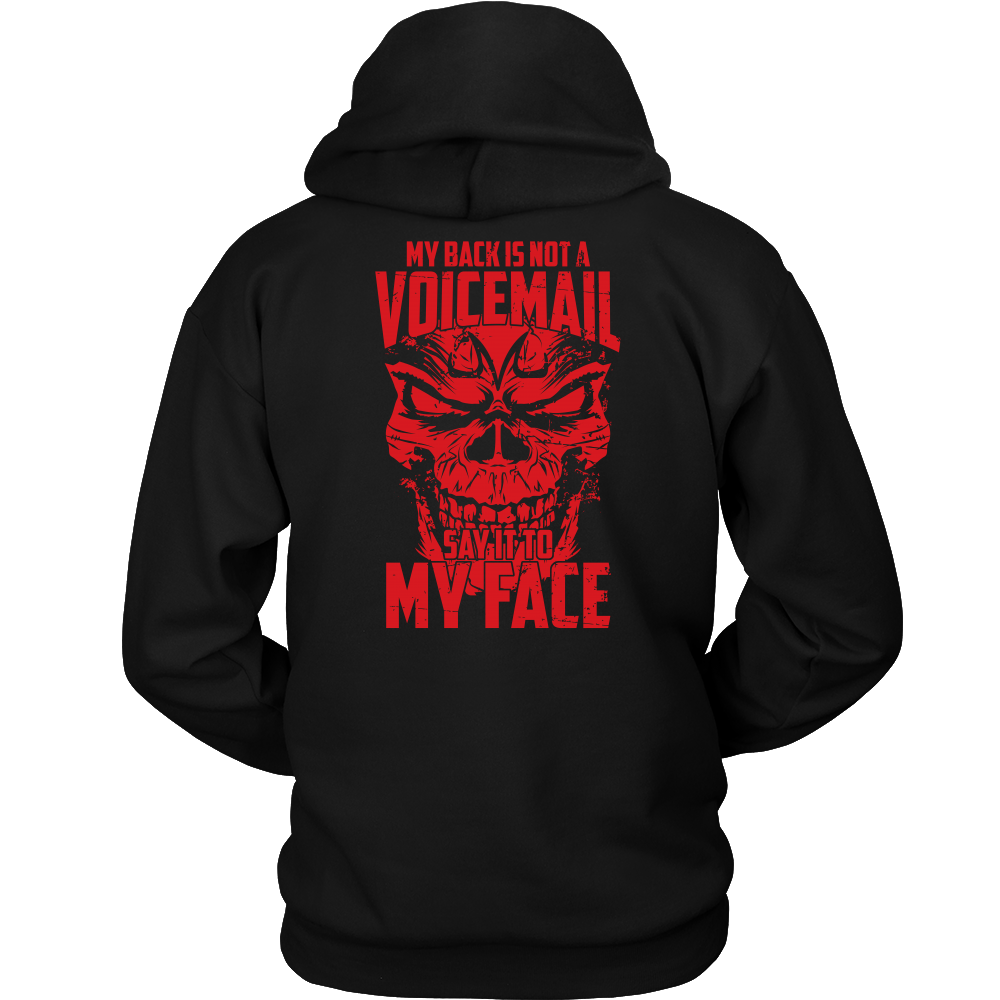 Super Saiyan Majin Vegeta My Back is not a Voicemail Unisex Hoodie T shirt - TL00435HO