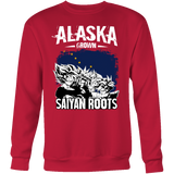 Super Saiyan ALASKA Growns Saiyan Roots Sweatshirt T shirt - TL00169SW