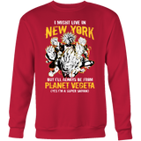 Super Saiyan New York Group Sweatshirt T shirt - TL00062SW
