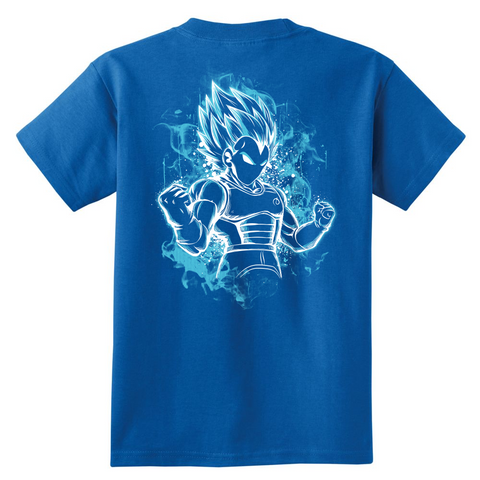Super Saiyan - Vegeta SSJ Blue - Youth Kid T Shirt - TL00878YS