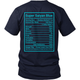 SUPER SAIYAN BLUE GOD Men Short Sleeve T Shirt - TL00175SS