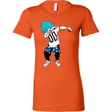 Super Saiyan Goku God Dab Woman Short Sleeve T Shirt - TL00467WS