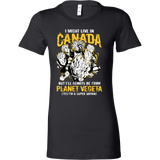 Super Saiyan I May Live In Canada Woman Short Sleeve T Shirt - TL00110WS