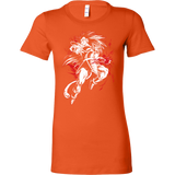 Super Saiyan Radditsu Woman Short Sleeve T Shirt - TL00534WS