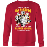 Super Saiiyan Ohio Group Sweatshirt T shirt - TL00063SW