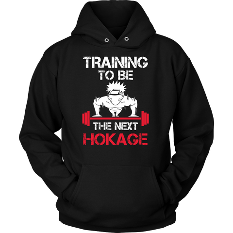 Naruto - Training to be the next hokage - Unisex Hoodie T Shirt - TL01202HO