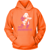 Super Saiyan His Android 18 Unisex Hoodie T shirt - TL00499HO