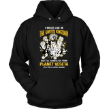 Super Saiyan I May Live in The UK Unisex Hoodie T shirt - TL00111HO