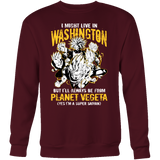 Super Saiyan Washington Sweatshirt T shirt - TL00070SW