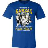 Super Saiyan Kansas Men Short Sleeve T Shirt - TL00080SS