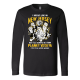 Super Saiyan New Jersey Long Sleeve T shirt - TL00072LS