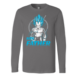 Super Saiyan Vegeta God Dad Long Sleeve T shirt - TL00488LS