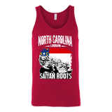 Super Saiyan North Carolina Grown Saiyan Roots Unisex Tank Top T Shirt - TL00149TT
