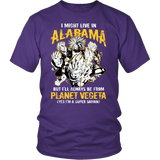 Super Saiyan - Alabama - Men Short Sleeve T Shirt - TL00088SS