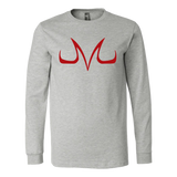 Super Saiyan Long Sleeve T shirt - Red Majin Vegeta Buu Symbol - TL00049LS