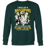 Super Saiyan Missouri Sweatshirt T shirt - TL00074SW