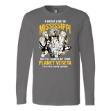 Super Saiyan Mississippi Long Sleeve T shirt - TL00093LS