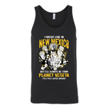 Super Saiyan I May Live in New Mexico Unisex Tank Top T Shirt - TL00086TT