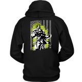 American Super Saiyan Broly Unisex Hoodie T shirt - TL00001HO - The TShirt Collection