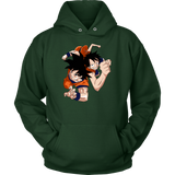 Super Saiyan Goku And Luffy Unisex Hoodie T shirt - TL00538HO