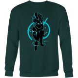 SUPER SAIYAN VEGETA GOD BLUE SWEAT SHIRT - TL00173SW