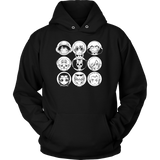 One Piece - Luffy and friends - Unisex Hoodie T Shirt - TL00915HO