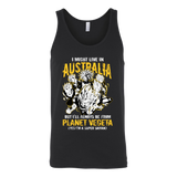 Super Saiyan I May Live In Australia Unisex Tank Top T Shirt - TL00108TT