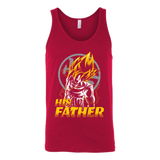 Super Saiyan Goku Dad Unisex Tank Top T Shirt - TL00484TT