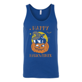 Happy halloweiner Unisex Tank Top T Shirt - TL00659TT