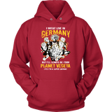 Super Saiyan I May Live In Germany Unisex Hoodie T shirt - TL00113HO
