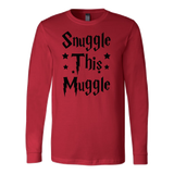Harry Potter - Snuggle this muggle - unisex long sleeve t shirt - TL00965LS