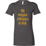 Halloween - The muggle struggle is real - Women Short Sleeve T Shirt - TL00727WS