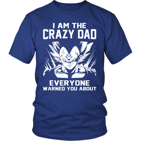 Saiyan - Iam The Crazy Dad - Men Short Sleeve T Shirt - TL01227SS - Front