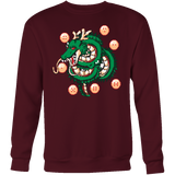 Super Saiyan Shenron with balls Sweatshirt T shirt- TL00118SW