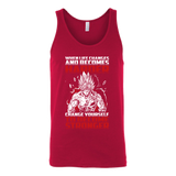 Super Saiyan Bardock become stronger Unisex Tank Top T Shirt - TL00474TT