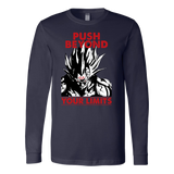 Super Saiyan Majin Vegeta Push Limits Long Sleeve T shirt -TL00228LS