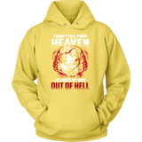 Super Saiyan Majin Vegeta Out Of Hell Unisex Hoodie T shirt - TL00461HO