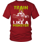 Super Saiyan Broly Train Like A Monster Men Short Sleeve T Shirt - TL00554SS